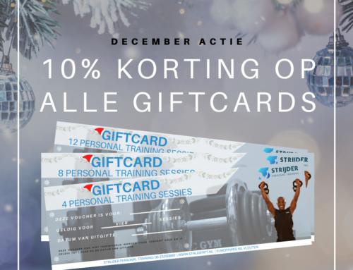 Geef een sportief kerstcadeau met 10% korting!